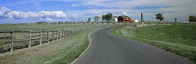 Gettysburg Photograph - Road At Gettysburg National Military by Panoramic Images