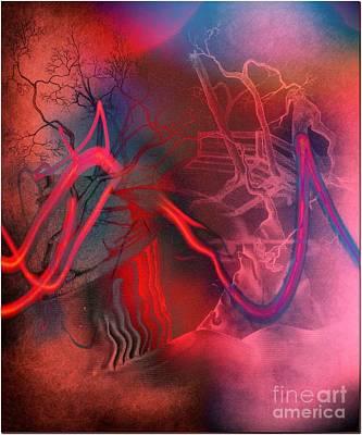 Road Between Worlds Art Print by David Neace