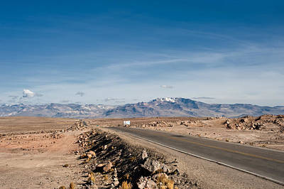 Photograph - Road From Arequipa To Chivay by U Schade