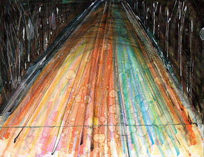 Road From Atlantic Mine Original by Ian Smith