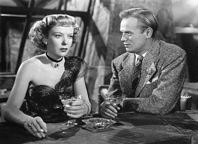 Road House, From Left Ida Lupino Art Print by Everett