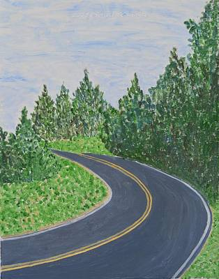 Road In Colonial Park Art Print by Sonali Gangane