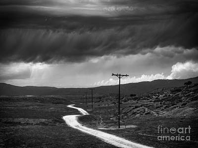 Photograph - Road Into The Storm by Alexander Kunz