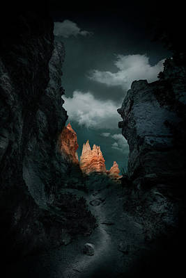 Cave Wall Art - Photograph - Road by Louise Yu