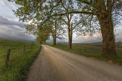 Cades Cove Photograph - Road Not Traveled II by Jon Glaser