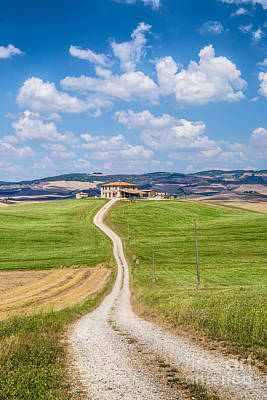 Movies Star Paintings - Road of Tuscany by JR Photography