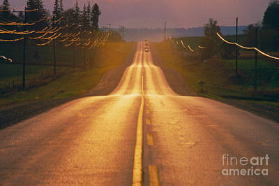 Photograph - Road In Ontario Canada by Ken Straiton