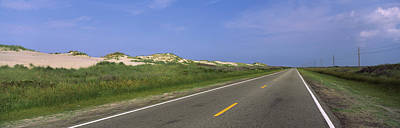 Road Passing Through A Landscape, North Art Print by Panoramic Images