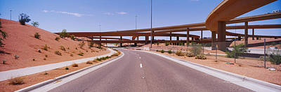 Asphalt Photograph - Road Passing Through A Landscape by Panoramic Images