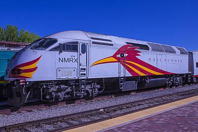 Express Photograph - Road Runner Express Train by Garry Gay