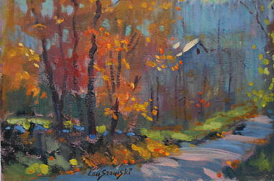 Painting - Road South by Len Stomski