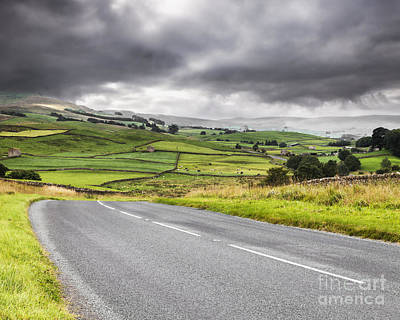 Photograph - Road Through Wensleydale  by Colin and Linda McKie