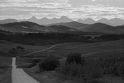 Photograph - Road To Alberta's Rockies No.2 by Daniel Woodrum