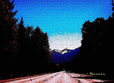 Photograph - Road To Alpental Wa Ski Resort 1 by Sadie Reneau