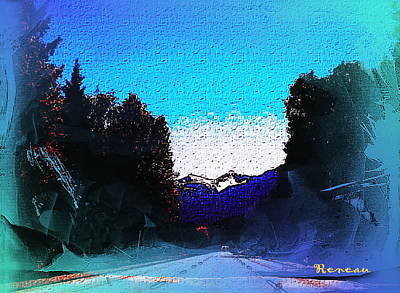Photograph - Road To Alpental Wa Ski Resort 2 by Sadie Reneau