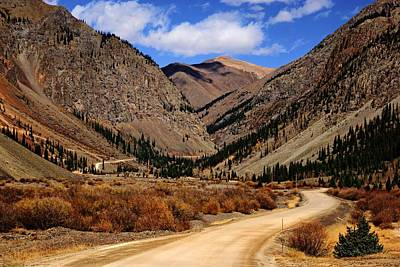 Photograph - Road To Animas Forks by Daniel Woodrum