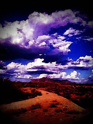 Road To Arizona Art Print