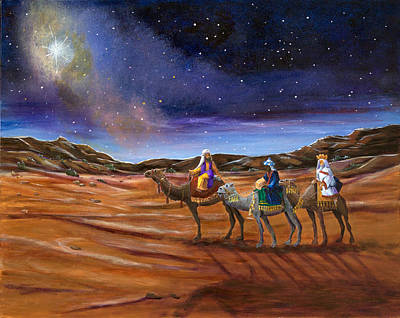 Painting - Road To Bethlehem by Dorothy Riley