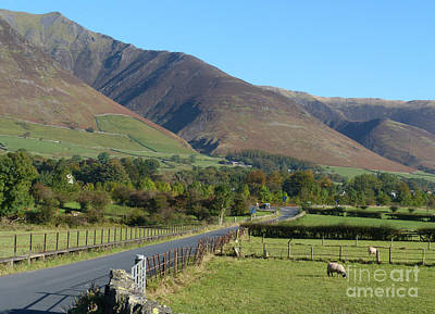 Photograph - Road To Blencathra   by Phil Banks