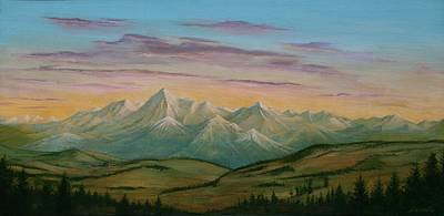 Painting - Road To Boulder by J W Kelly