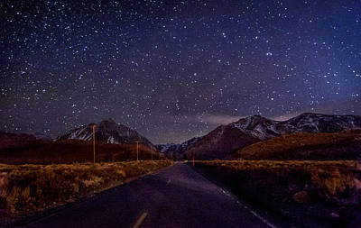 Road To Convict Lake Art Print by Cat Connor