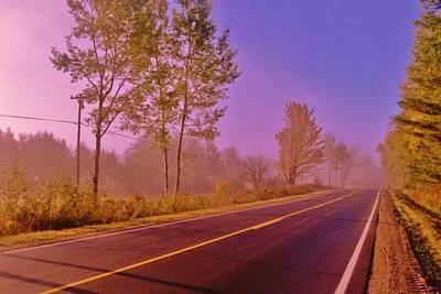 Road To... Art Print by Daniel Thompson
