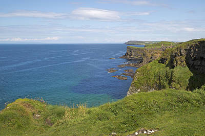 Antrim Photograph - Road To Dunluce Ireland by Betsy Knapp