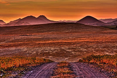 Photograph - Road To Edna Valley by Beth Sargent
