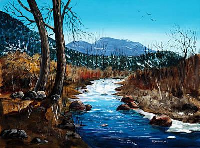 Painting - Road To Espanola by Richard Mordecki