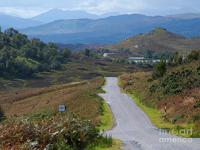 Sottish Photograph - Road To Fort Augustus by Phil Banks