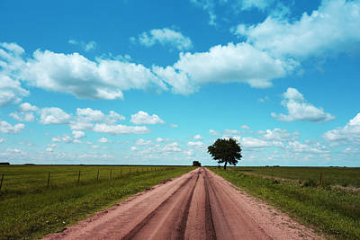 Photograph - Road To Infinity - Landscape -photography by Ann Powell