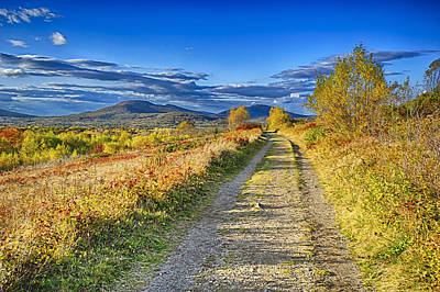 Maine Mountains Digital Art - Road To Joy by Gregory W Leary