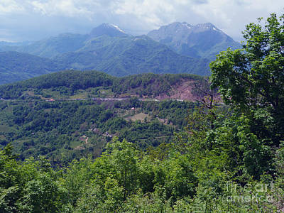 Photograph - Road To Kolasin - Montenegro by Phil Banks