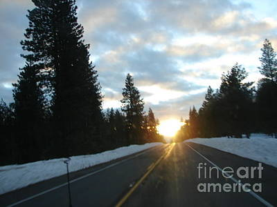 Photograph - Road To Lake Almanor From Susanville California by Windy Mountain