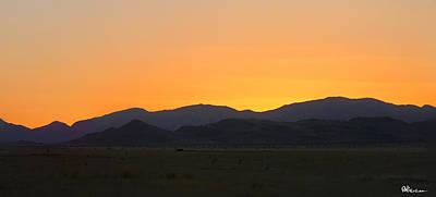 Landscape Photograph - Road To Marfa #1 by Paul Anderson