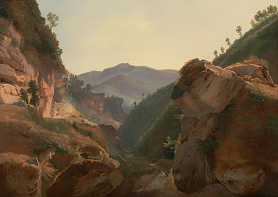 Beautiful Creek Painting - Road To Naples by Mountain Dreams