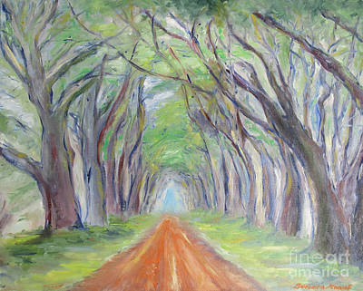 Painting - 	Road To Nirvana				 by Barbara Anna Knauf