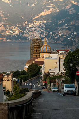 Photograph - Road To Positano by John Pike