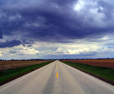 Photograph - Road To Ruin by Claude Oesterreicher