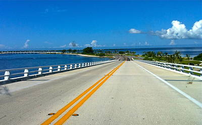 Photograph - Road To Sanibel Island by Denise Mazzocco
