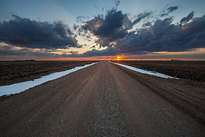 Photograph - Road To Spring by Aaron J Groen