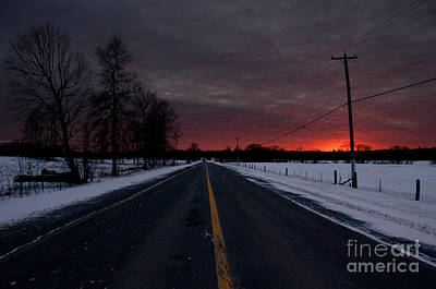 Road To Success Print by Cheryl Baxter
