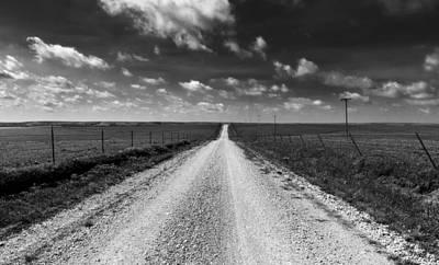 Road To Texaco Hill Art Print