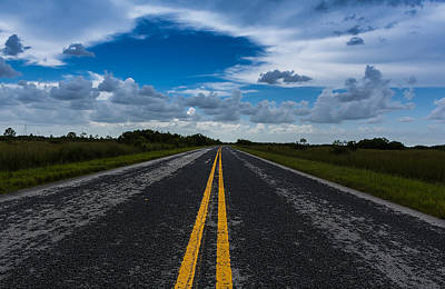 Lili Photograph - Road To The Everglades by Manuel Lopez