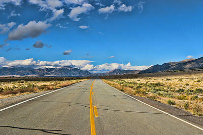 Photograph - Road To The Great Sand Dunes by Allen Beatty