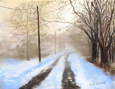 Pastel - Road To The Ice House by Jack Skinner