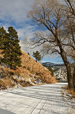 Photograph - Road To The Lake by Sue Smith