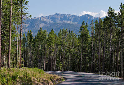 Photograph - Road To The Mountains by Charles Kozierok