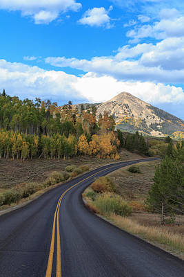 Photograph - Road To The Peak by John McArthur