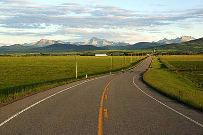 Photograph - Road To The Rockies by Daniel Woodrum